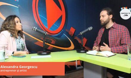 Alexandra Valentina Georgescu, antreprenor și artist, în podcast Generația lui John, EP. 22
