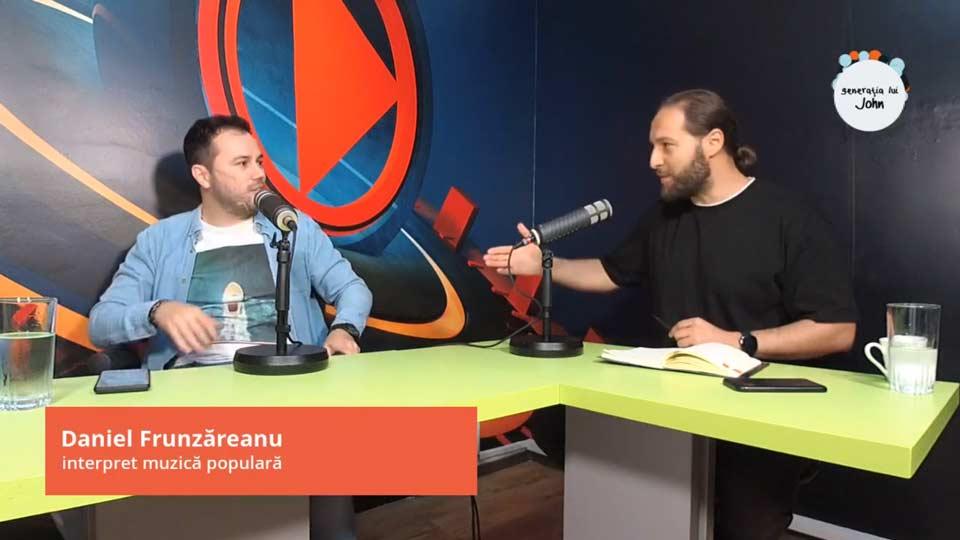 """DANIEL FRUNZĂREANU, ARTIST: """"NU MĂ COMPAR CU TZANCA URAGANU ȘI TOATE DIAMANTELE"""", EP. 31"""