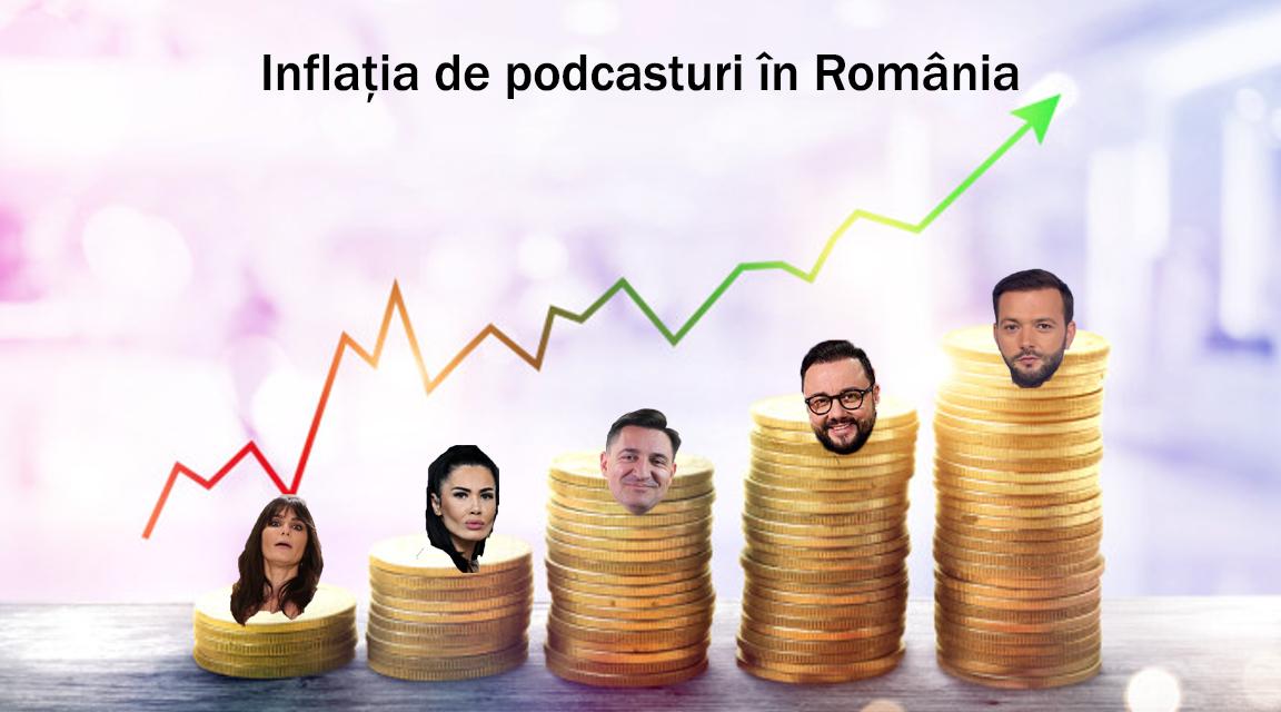 Inflația de podcasturi. De ce toate vedetele din România cred că ăsta e secretul succesului